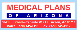 Contact Medical Plans of Arizona at 520 745 1111